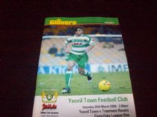 Yeovil Town v Tranmere Rovers, 2005/06